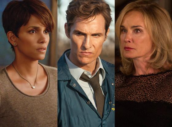 Halle Berry, Extant, Matthew McConaughey,True Detective, Jessica Lange, American Horror Story: Coven