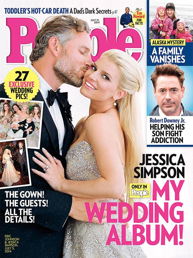 Jessica Simpson, Eric Johnson, Wedding, People Magazine