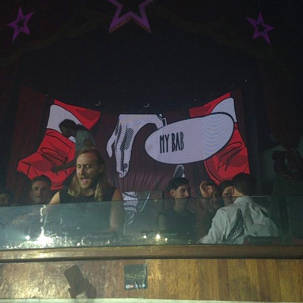 Orlando Bloom, Justin Bieber, David Guetta