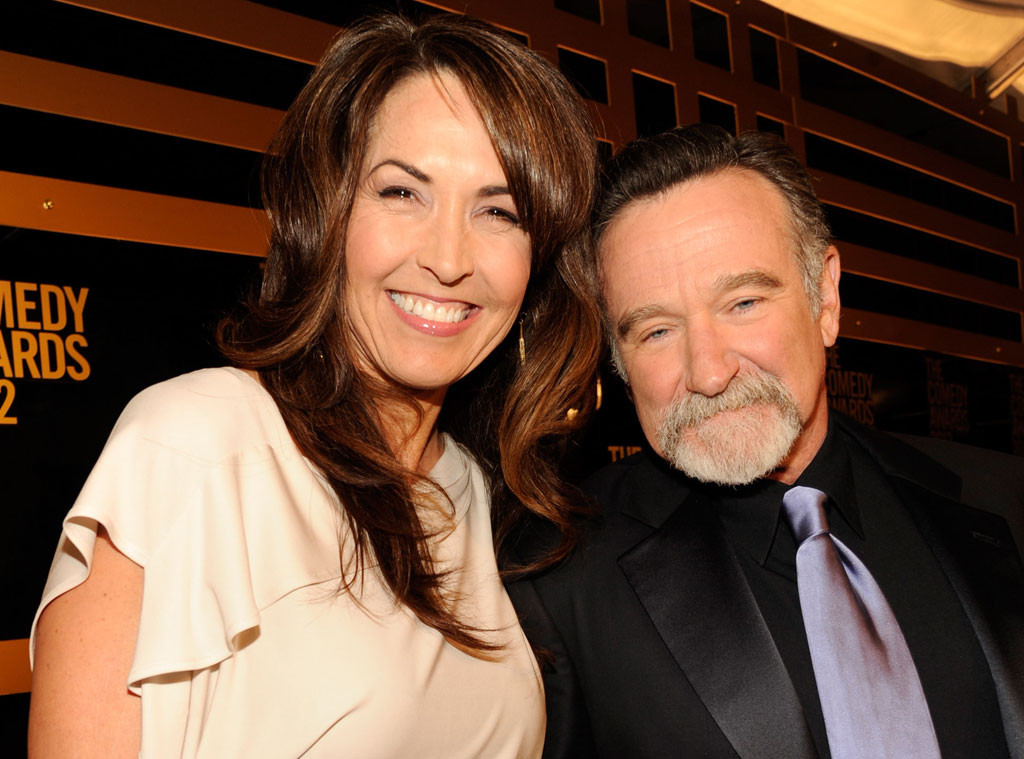 Susan Schneider, Wife, Robin Williams