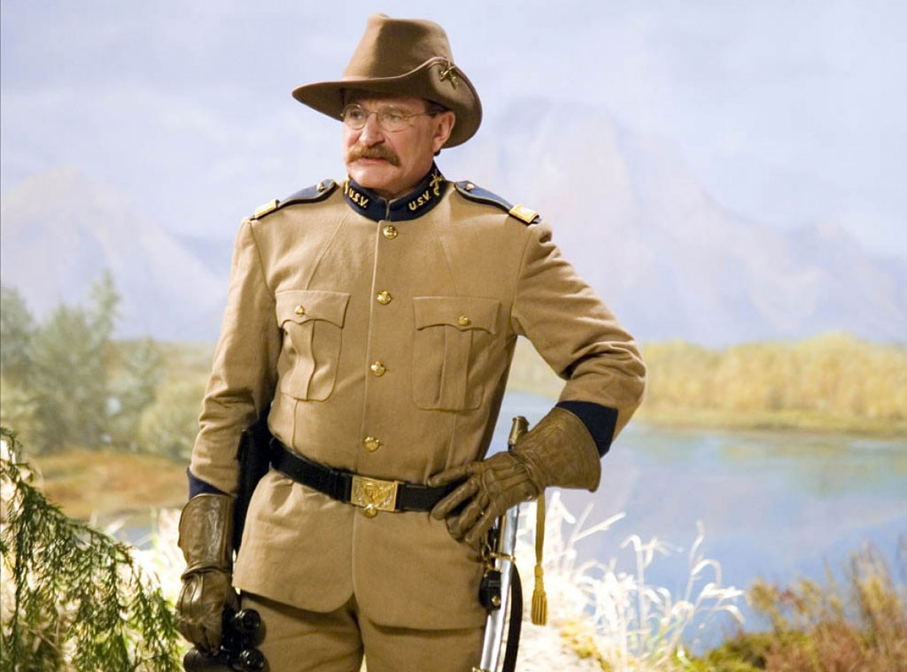 Robin Williams, Night at the Museum
