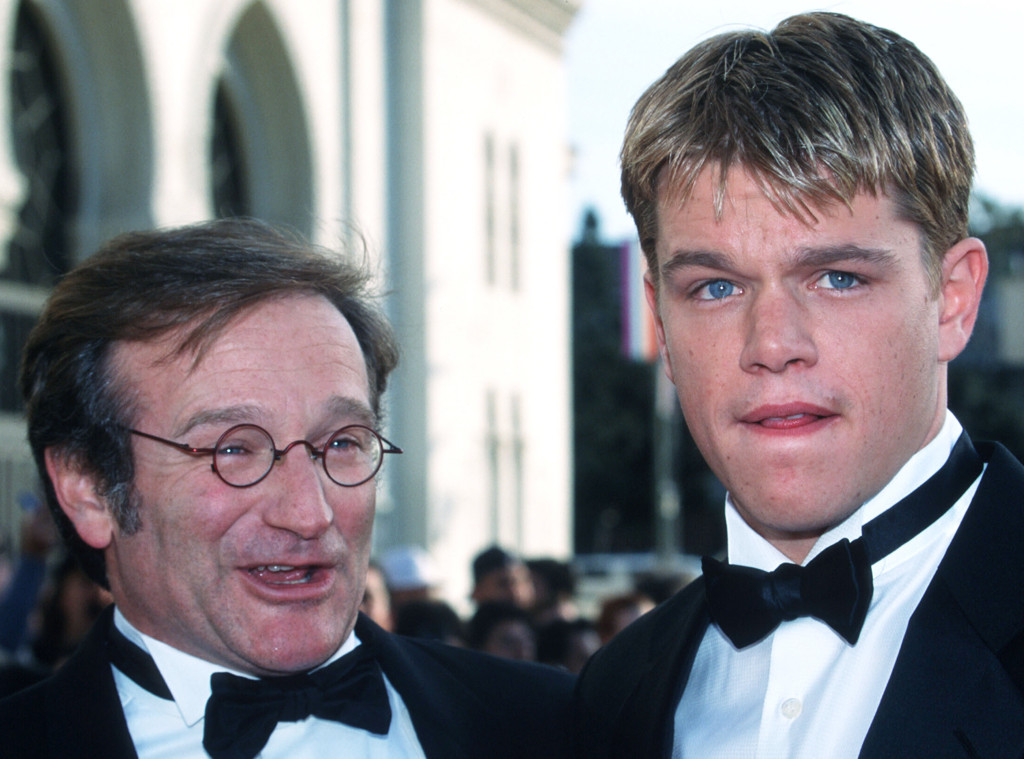 Robin Williams, Matt Damon, Famous Friends