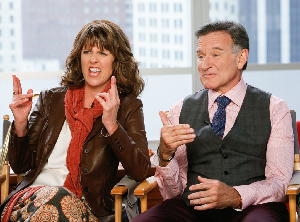 Pam Dawber from Robin Williams' Famous Friends | E! News