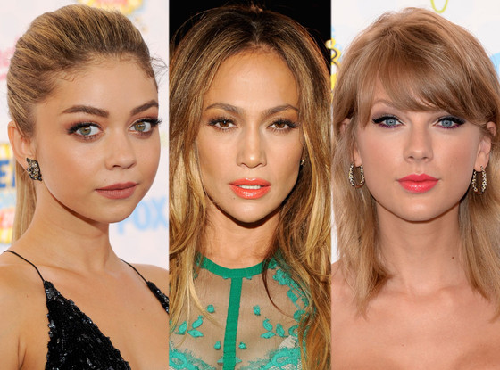 Sarah Hyland, Jennifer Lopez, Taylor Swift, Teen Choice Awards