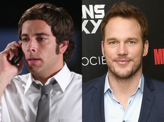 """Chris Pratt as Chuck on  Chuck  -  After working with the  Guardians of the Galaxy  star on the final season of  The O.C. ,  Josh Schwartz  revealed Pratt was his first choice for the role that eventually went to  Zachary Levi . """"He was the first guy I wanted to play 'Chuck'. But as fate would have it, he was destined to guard the galaxy, not the Buy More,"""" Schwartz revealed."""