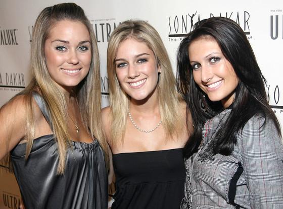 Lauren Conrad, Heidi Montag, Jen Bunney