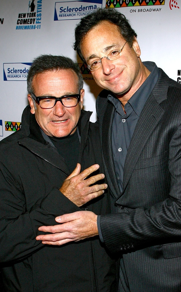 Robin Williams, Bob Saget, Famous Friends