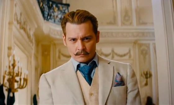 Johnny Depp, Mortdecai