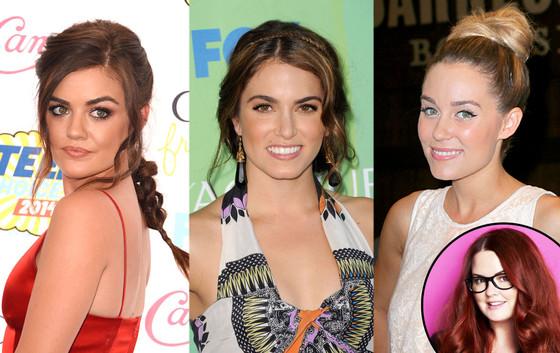 Kristen Ess Glam Squad: Lucy Hale, Nikki Reed, Lauren Conrad