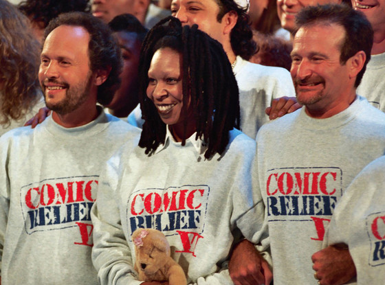 Comic Relief, Robin Williams, Whoopi Goldberg, Billy Crystal