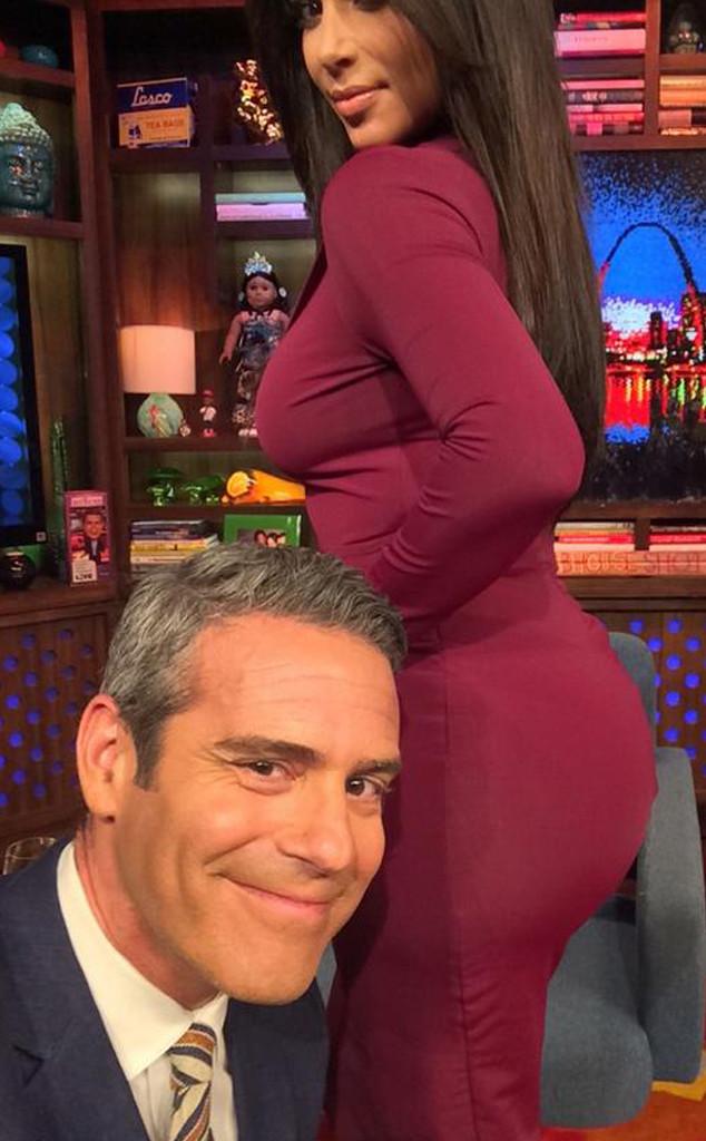 Andy Cohen, Kim Kardashian, Twitter