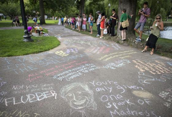 Robin Williams Memorial Boston