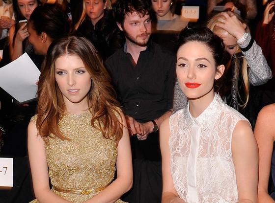 Anna Kendrick, Emmy Rossum, Theon Greyjoy