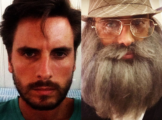 Scott Disick, Instagram