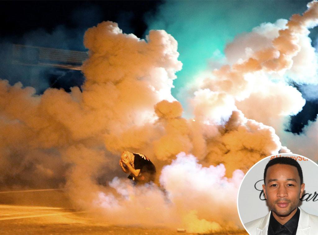 Missouri Unrest, Ferguson, John Legend