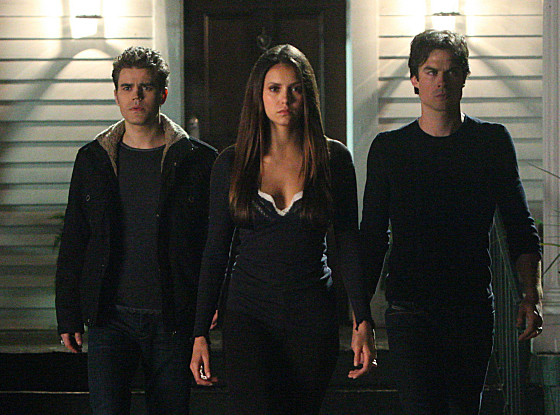 Ian Somerhalder, Nina Dobrev, Paul Wesley, Vampire Diaries