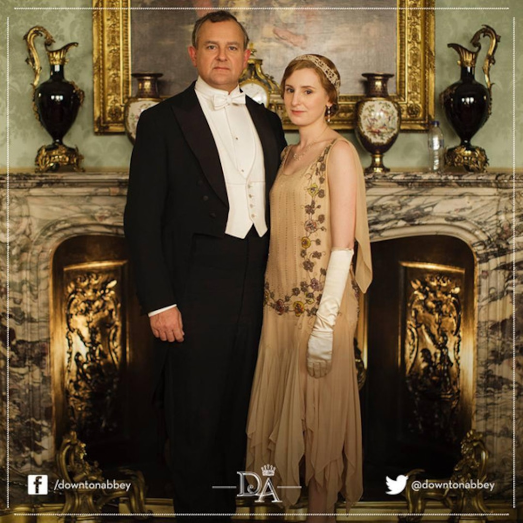 The water bottle in the show 'Downtown Abbey.'