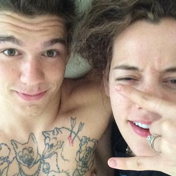 Dave Smith Auto >> Riley Keough and Ben Smith-Peterson Are Married—Get the Details! | E! News