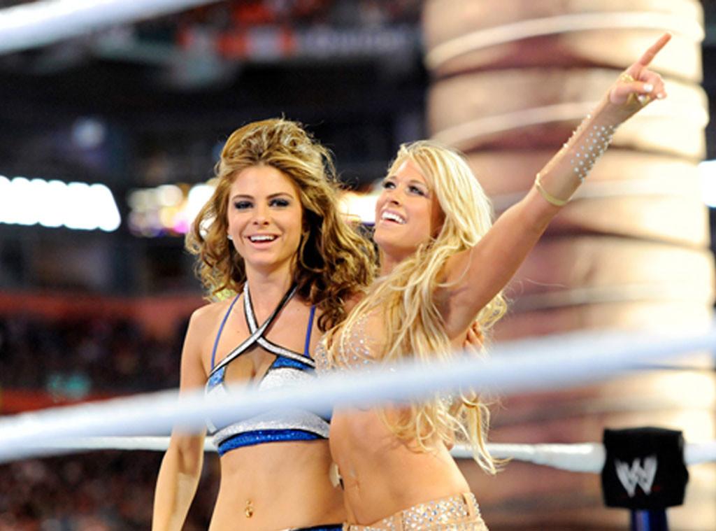 Maria Menounos, WWE