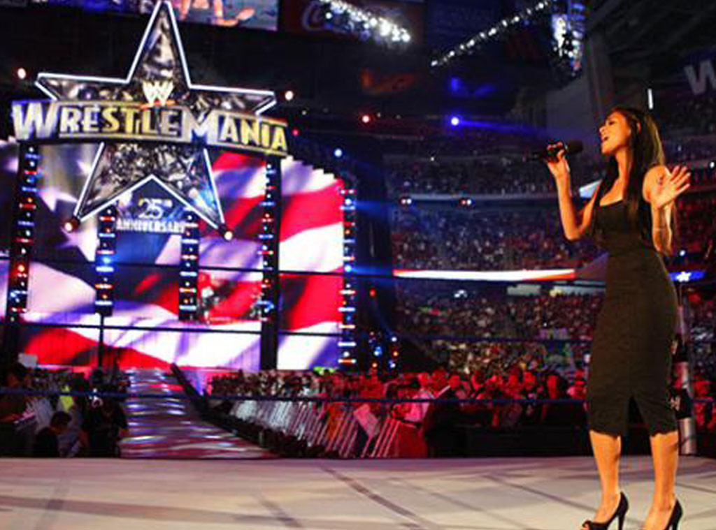 Nicole Scherzinger, WWE