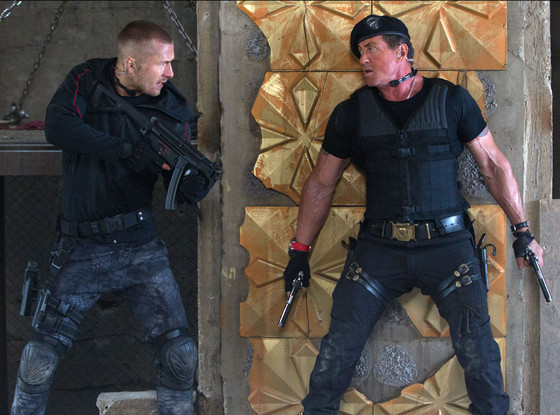 Glen Powell, Sylvester Stalone, Expendables 3
