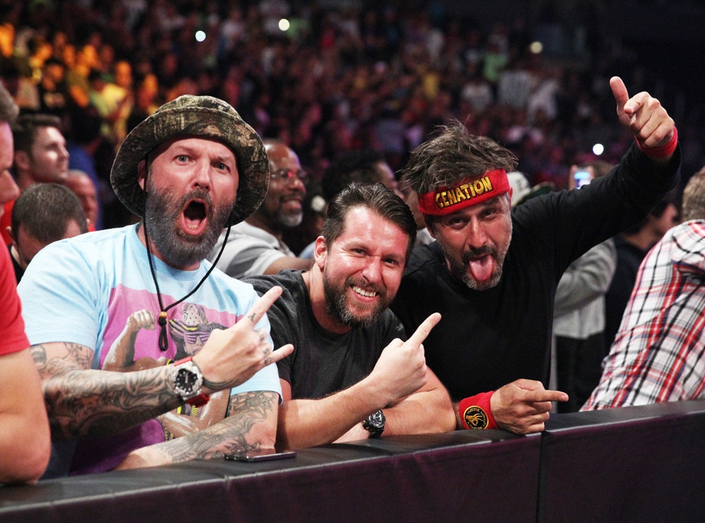 Fred Durst, David Arquette