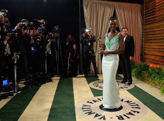 Lupita Nyong'o, Vanity Fair Oscar Party