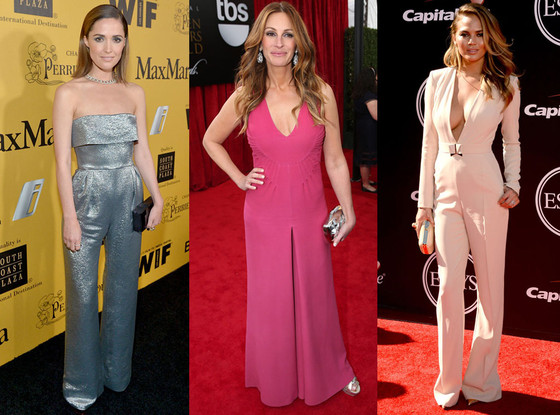 Jumpsuit, Chrissy Teigen, Julia Roberts, Rose Byrne