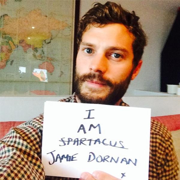 Jamie Dornan, Instagram