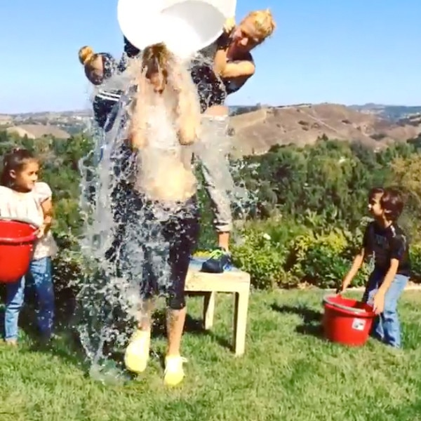 Jennifer Lopez, Ice Bucket Challenge
