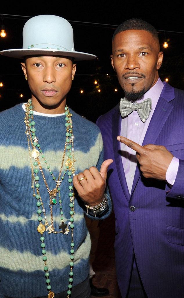 Pharrell Williams, Jamie Foxx