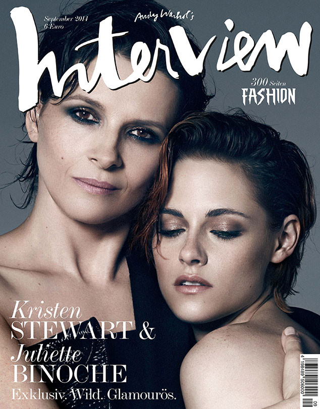 Kristen Stewart, Juliette Binoche, Interview Germany