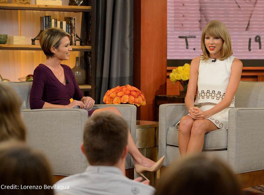 Taylor Swift, GMA, Twitter