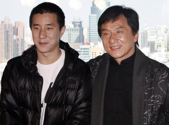 Jaycee Chan, Jackie Chan