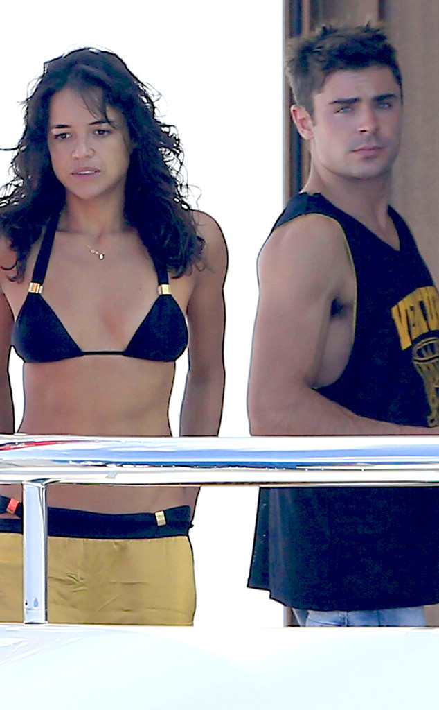Michelle Rodriguez, Zac Efron