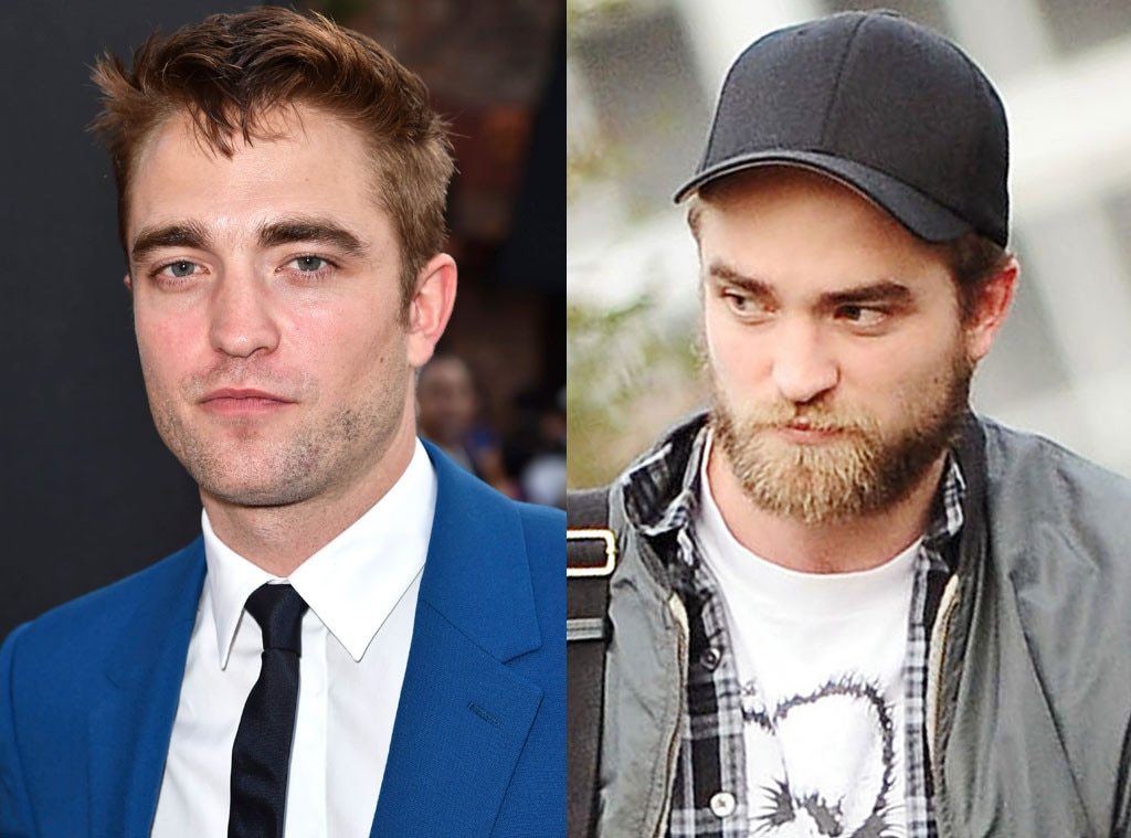 Bearded Celebs, Robert Pattinson