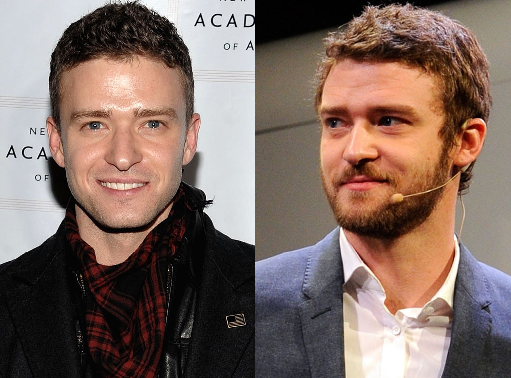 Justin Timberlake, Beards