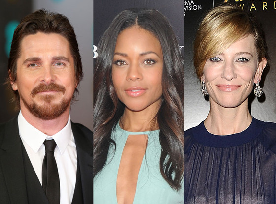 Christian Bale, Naomi Harris, Cate Blanchett, Jungle Book Casting