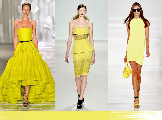 Fashion Week Color Predictions: Lemon Yellow