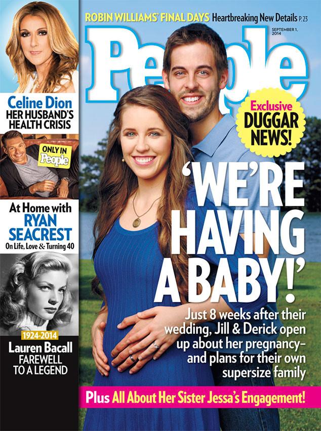 Jill Duggar, Jill Dillard, Derick Dillard, People Magazine