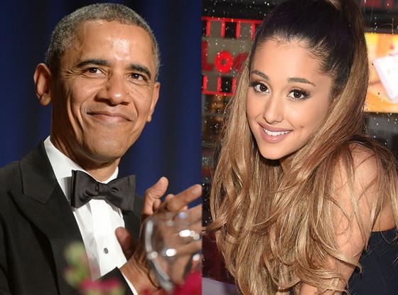 Barack Obama, Ariana Grande