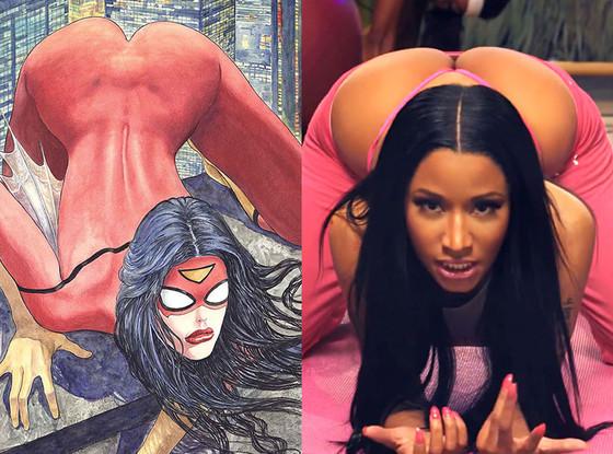 Spider Woman, Nicki Minaj, Anaconda
