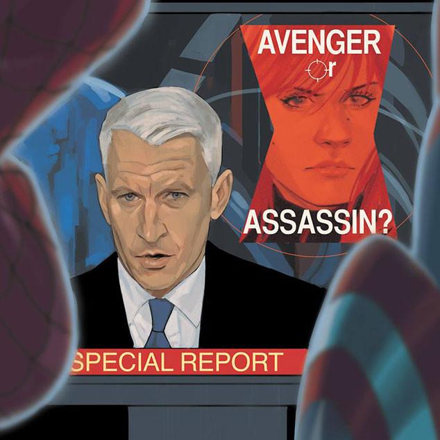 Anderson Cooper, Black Widow