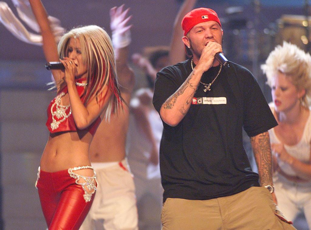 Christina Aguilera, Fred Durst, MTV VMAs 2000