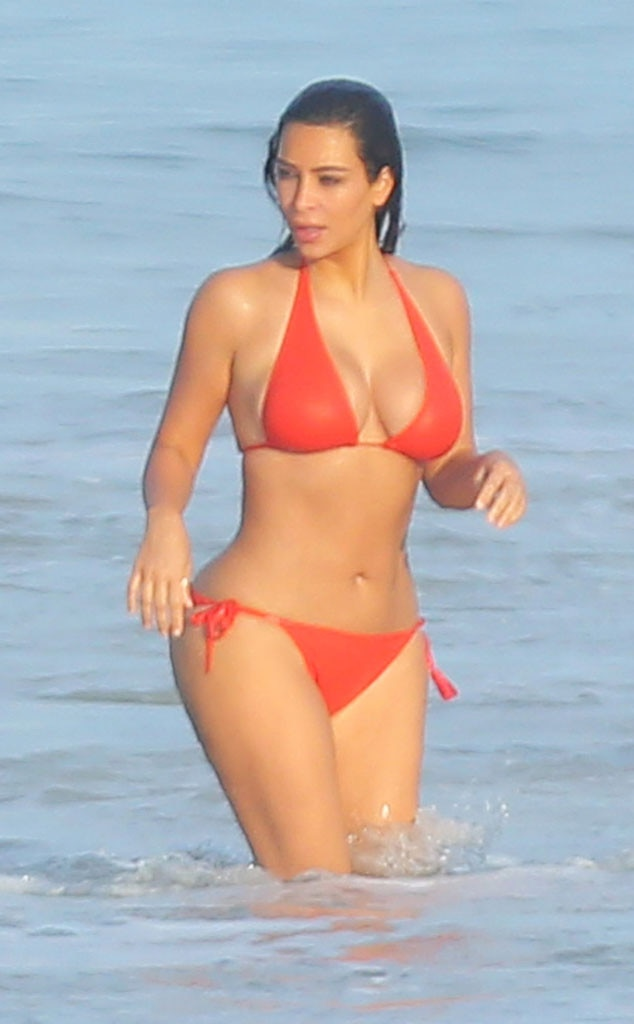 Kim Kardashian, Bikini
