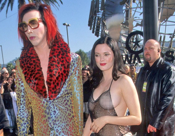 Rose Mcgowan From Mtv Vmas Most Memorable Fashions Ever