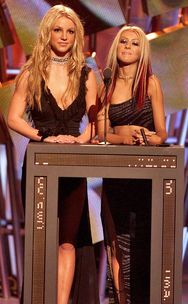 Britney Spears, Christina Aguilera, MTV VMA's 2000