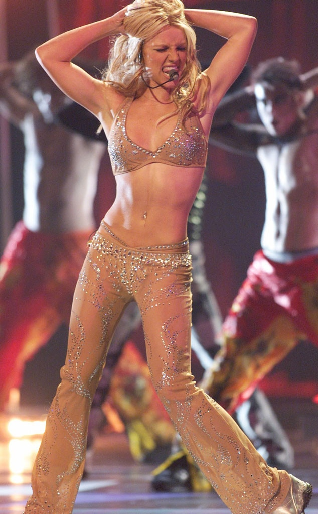 Nothing But Nude From Britney Spears Best Concert -3566