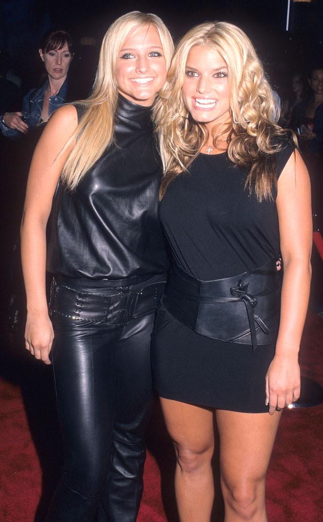Jessica Simpson, Ashlee Simpson, MTV VMA's 2001