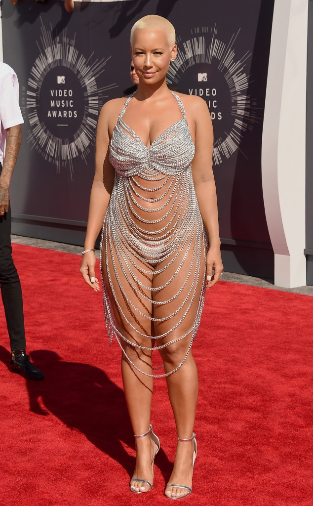 Amber Rose, MTV VMAs 2014, Worst Dressed
